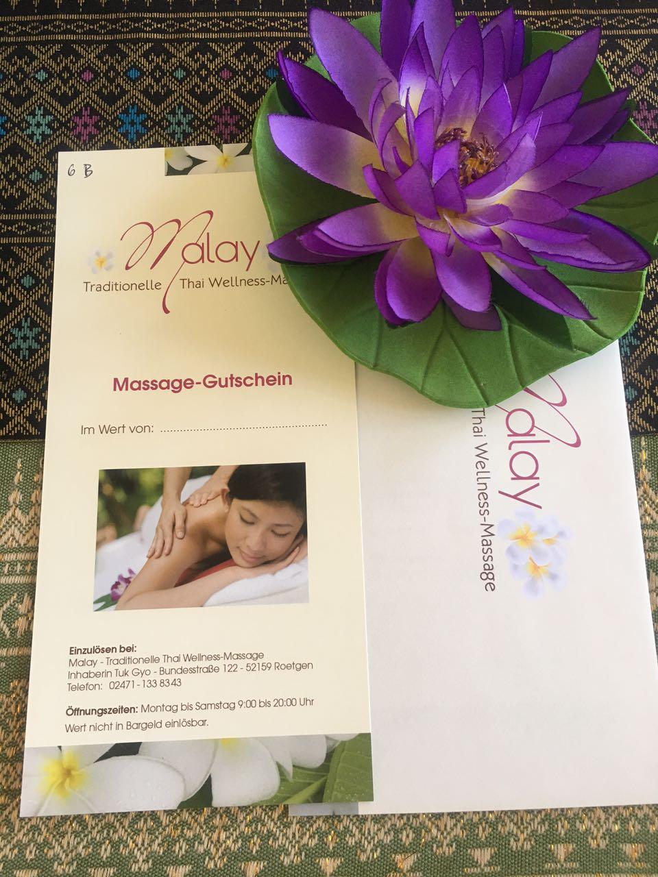 Thai massage roetgen